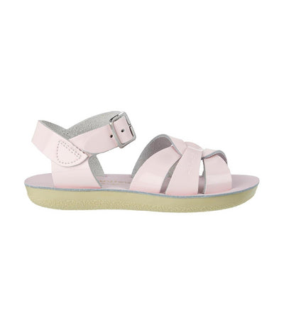 salt-water sandals kids shiny pink swimmer premium