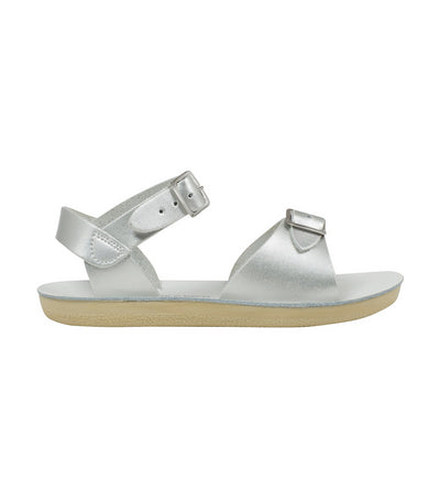 salt-water sandals kids silver surfer premium