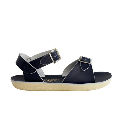 salt-water sandals kids navy surfer