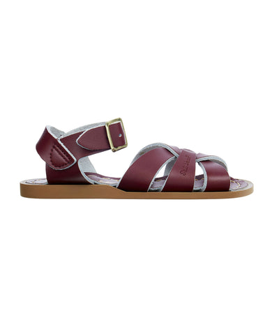 salt-water sandals kids claret original