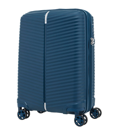 samsonite varro spinner 55/20 expandable peacock blue