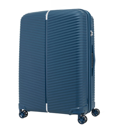 samsonite varro spinner 68/25 expandable peacock blue
