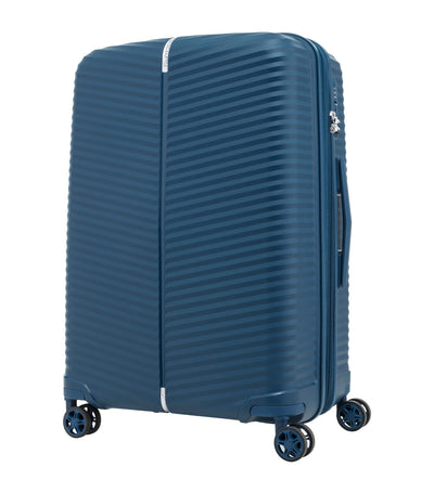 samsonite varro spinner 75/28 expandable peacock blue