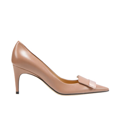 sergio rossi sr1 cindy pump bright nude