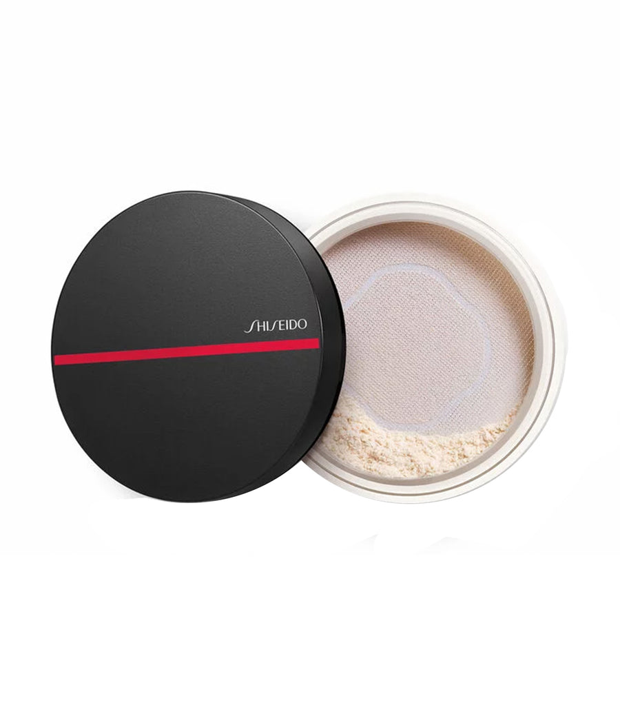 shiseido free synchro skin invisible silk loose powder radiant