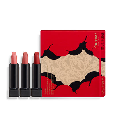 Shiseido ModernMatte Powder Lipstick Deluxe Mini Set - Holiday Limited Edition
