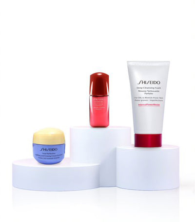 shiseido firming and uplifting discovery set