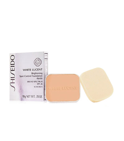 shiseido white lucent brightening spot-control foundation refill