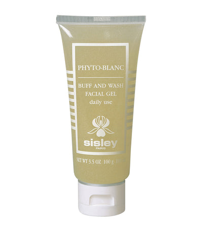 sisley paris phyto-blanc buff and wash facial gel