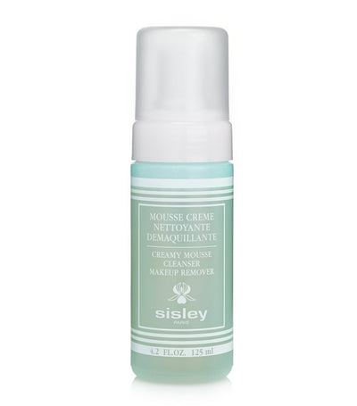 sisley paris creamy mousse cleanser makeup remover