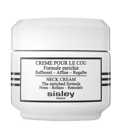 sisley paris neck cream the enriched formula