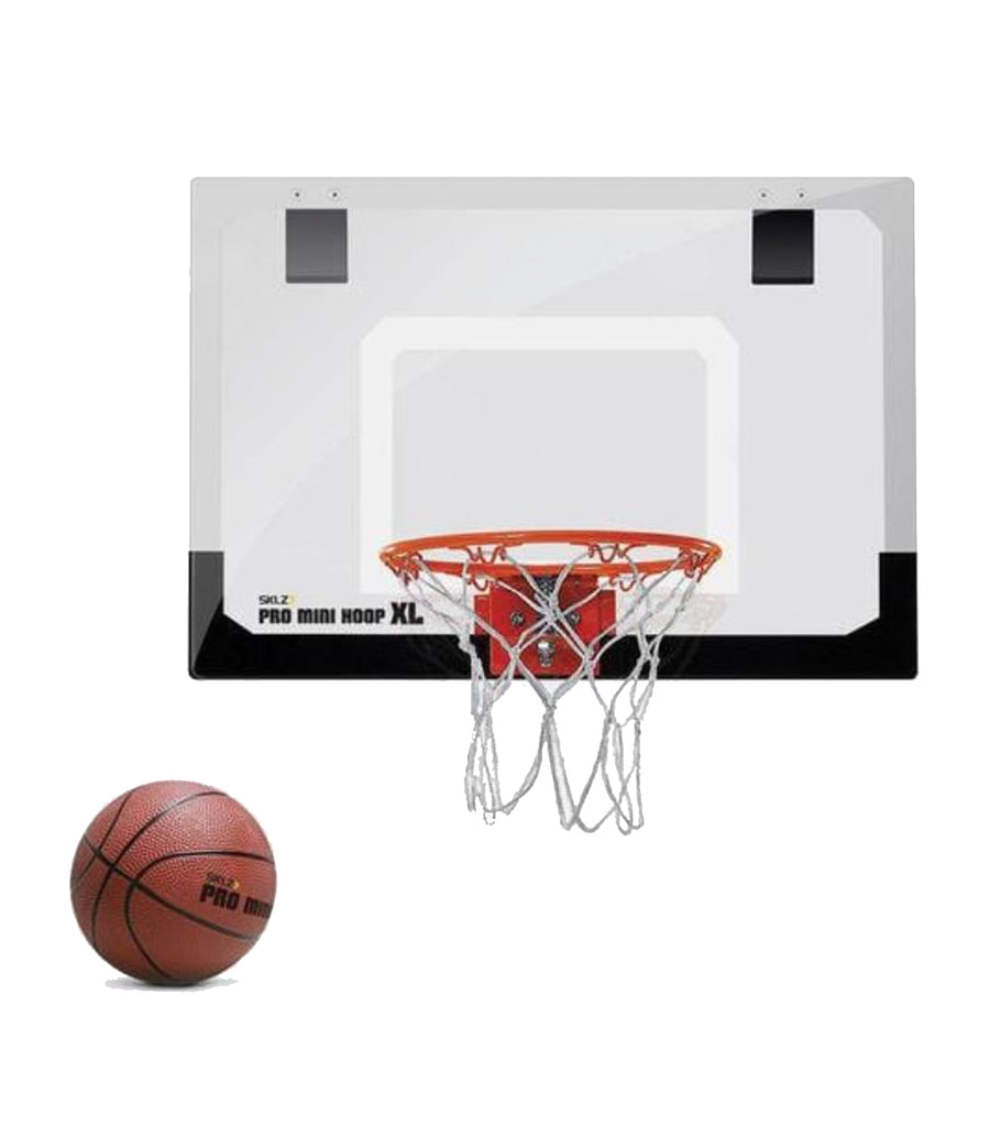 sklz lack and white pro mini hoop - xl