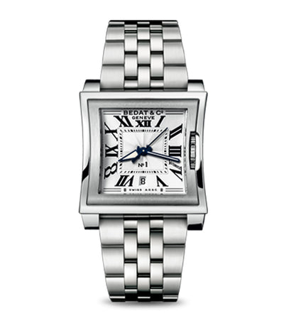 No.1 Square-Shaped Ladies Steel Automatic