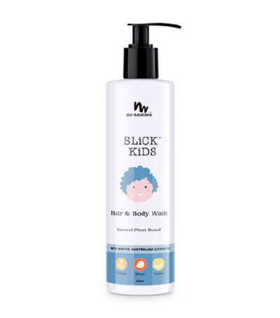slick kids hair and body wash - mango and pineapple