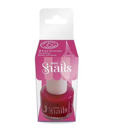 snails mini nail polish - cherry queen