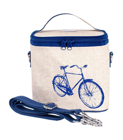 soyoung blue bicycle large cooler bag