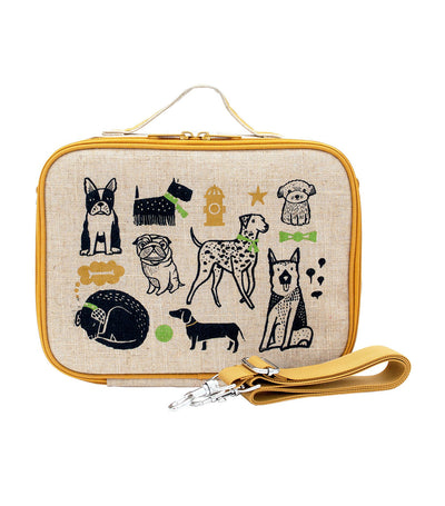 soyoung yellow wee gallery pups insulated lunch box