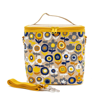 soyoung yellow mode flowers large cooler bag