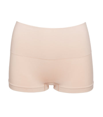 spanx everyday shaping panty boyshort soft nude