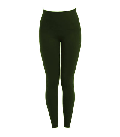 spanx look at me now seamless side zip leggings deep olive