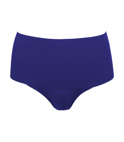 spanx undie-tectable thong midnight navy