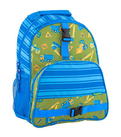 stephen joseph all over print backpack - construction