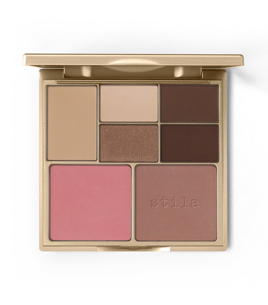 stila light/medium perfect me perfect hue eye and cheek palette