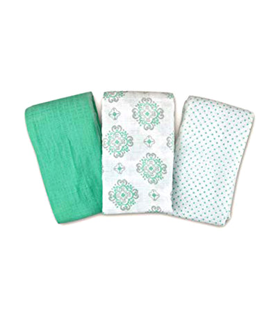 summer swaddleme® muslin blankets pack of 3