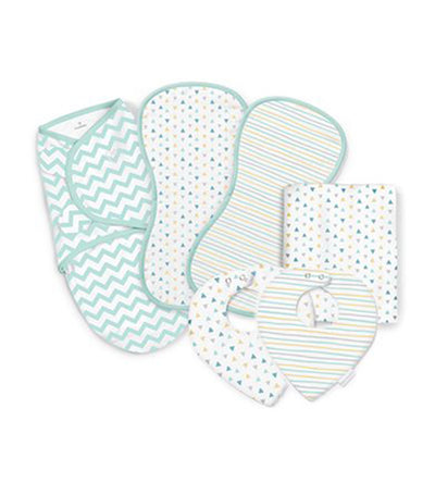 summer teal swaddleme® essentials gift set