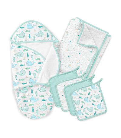 summer swaddleme® baby bath gift set