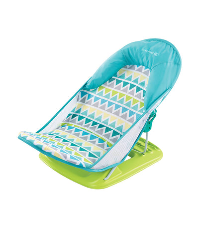 summer triangle stripe deluxe baby bather