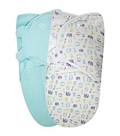 summer swaddleme® original organic swaddle pack of 2 Large