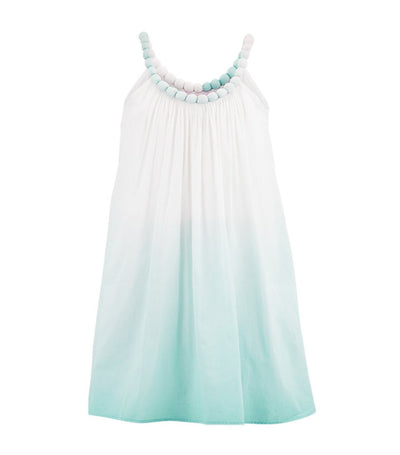 sunuva mint ombre beaded sundress
