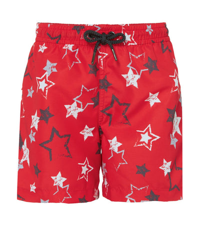 sunuva red star shorts