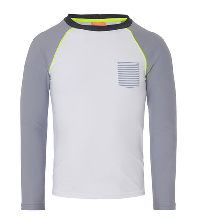 sunuva gray stripe rash vest