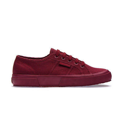 superga 2750 cotu classic total dark bordeaux