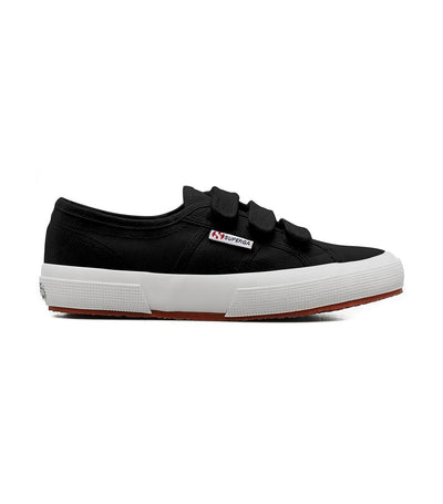 superga 2750 cot 3-strap black full white