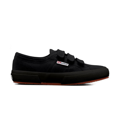 Superga 2750 COT 3-Strap Full Black