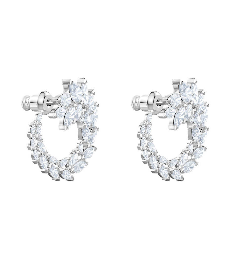swarovski louison hoop pierced earrings