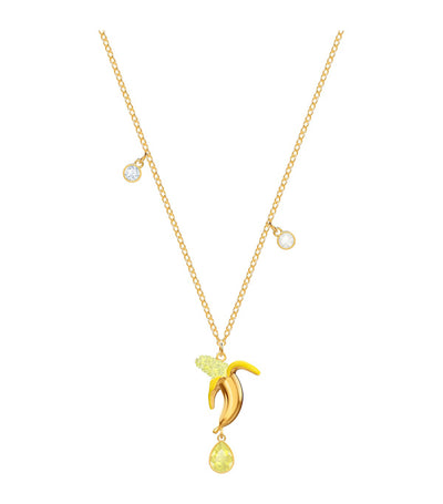 swarovski no regrets banana pendant