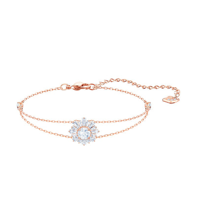 swarovski sunshine bracelet rose-gold
