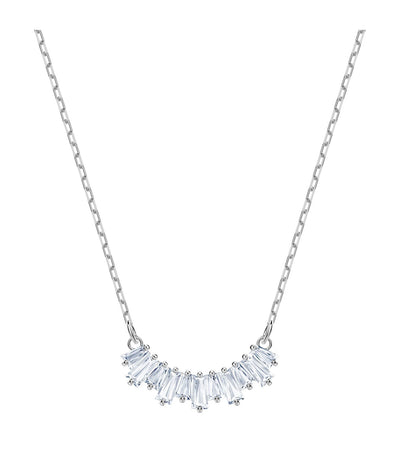 swarovski sunshine white rhodium plated necklace