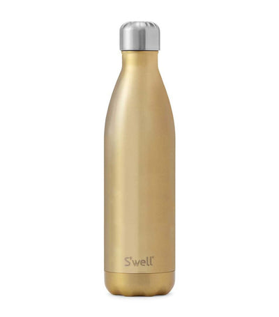 s'well 25oz glitter sparkling champagne water bottle