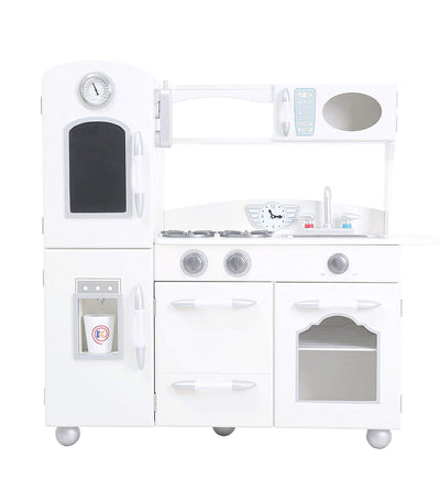 teamson white little chef westchester retro play kitchen