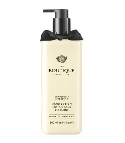 The Boutique Collection Grapefruit and Verbena Hand Lotion