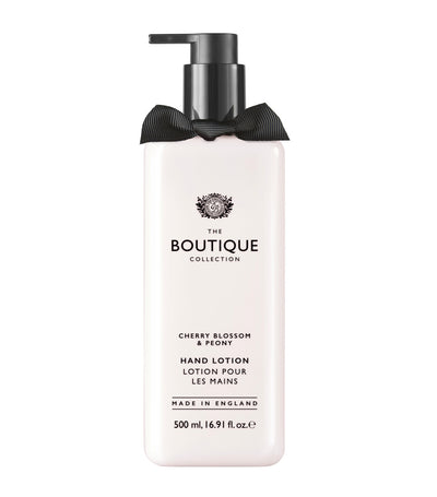 The Boutique Collection Cherry Blossom and Peony Hand Lotion
