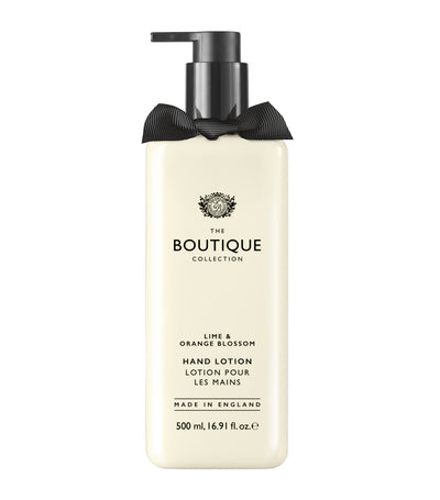 The Boutique Collection Lime and Orange Blossom Hand Lotion