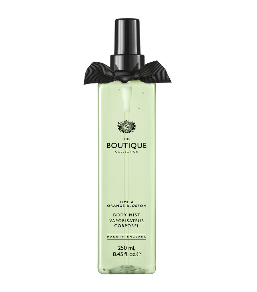 The Boutique Collection Lime and Orange Blossom Body Mist