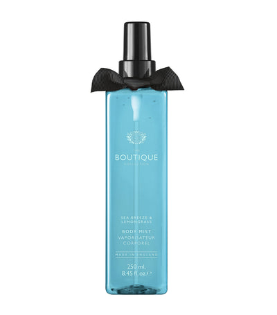 The Boutique Collection Sea Breeze and Lemongrass Body Mist