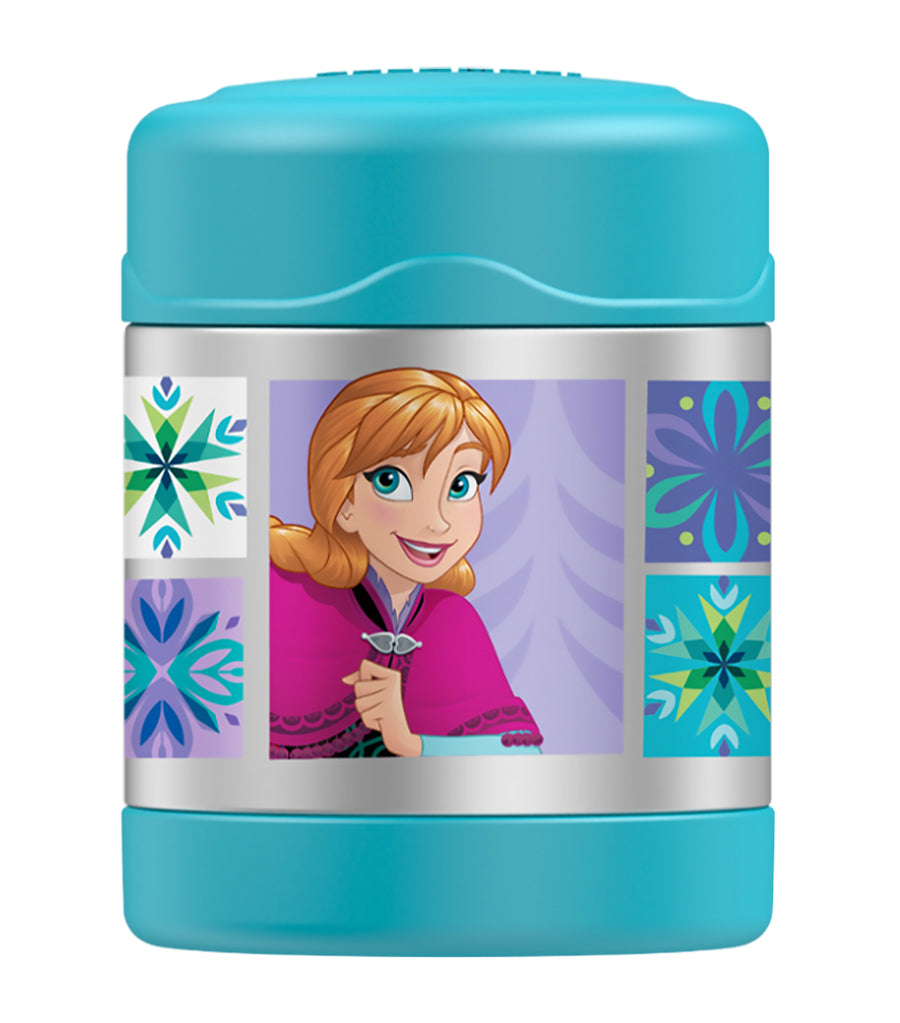 thermos disney frozen food jar light blue